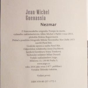 antikvární kniha Nezmar, 2016