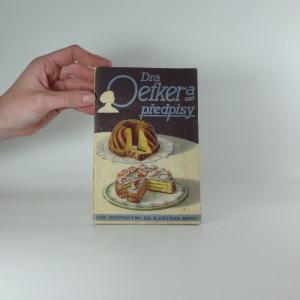 náhled knihy - Dra Oetkera předpisy