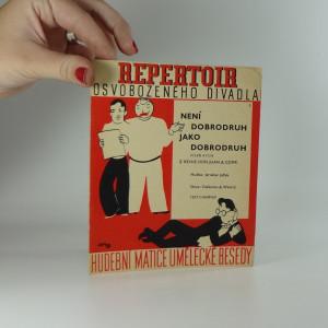 náhled knihy - Repertoir osvobozeného divadla 5. : Není dobrodruh jako dobrodruh, píseň a fox z revue Don Juan & Comp.