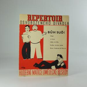 náhled knihy - Repertoir osvobozeného divadla 19. : Bůh suď! píseň z revue Osel a stín
