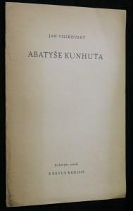 náhled knihy - Abatyše Kunhuta