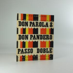 náhled knihy - Repertoir Osvobozeného divadla: Don Parola & Don Pandero, passo doble z revue Don Juan & Comp.