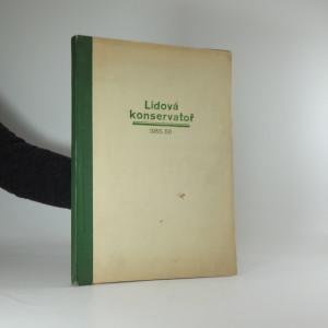 náhled knihy - Lidová konservatoř (1955 - 1956)