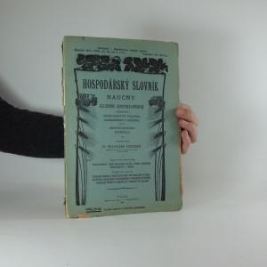 náhled knihy - Hospodářský slovník