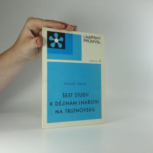 náhled knihy - Šest studií k dějinám lnářství