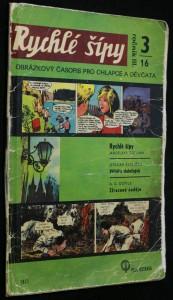 náhled knihy - Rychlé šípy, ročník 3. 3/16