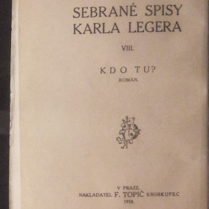 antikvární kniha Kdo tu?, 1918