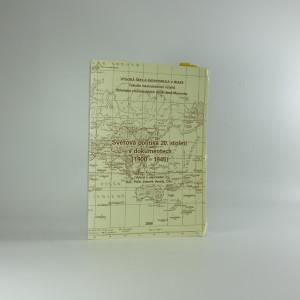 náhled knihy - Světová politika 20. století v dokumentech (1900-1945)
