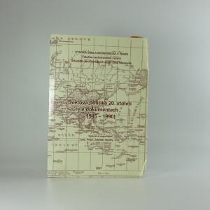 náhled knihy - Světová politika 20. století v dokumentech (1945-1990)