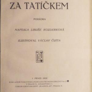 antikvární kniha Za tatíčkem, 1928
