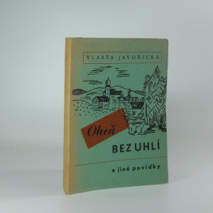 náhled knihy - Oheň bez uhlí a jiné povídky
