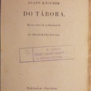 antikvární kniha Do tábora, Neuveden