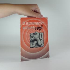 náhled knihy - Československý rozhlas v boji