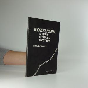náhled knihy - Rozsudek který otřásl světem