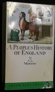 náhled knihy - A people's history of England