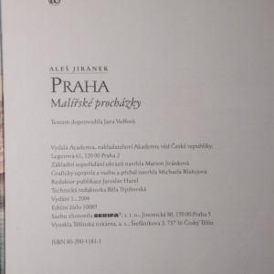 antikvární kniha Praha : malířské procházky, 2004