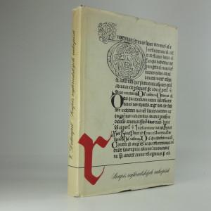 náhled knihy - Soupis rukopisů knihovny benediktinů v Rajhradě
