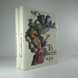 náhled knihy - Tři mušketýři (2 díly)
