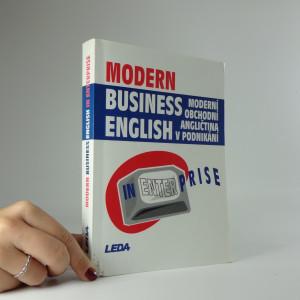 náhled knihy - Modern business English in enterprise = Moderní obchodní angličtina v podnikání