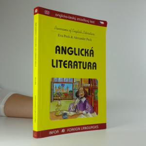 náhled knihy - Anglická literatura = Panorama of English literature