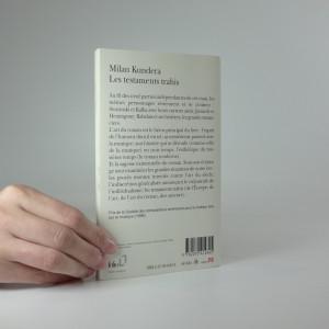 antikvární kniha Les Testaments Trahis, 2006
