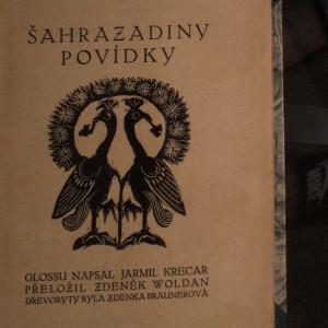 antikvární kniha Šahrazadiny povídky, 1913