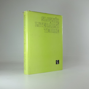 náhled knihy - Slovník literární teorie