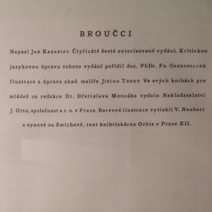 antikvární kniha Broučci., neuveden