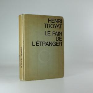 náhled knihy - Le Pain de l'étranger