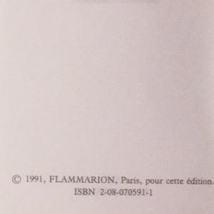 antikvární kniha Une année dans le Sahel, 1991