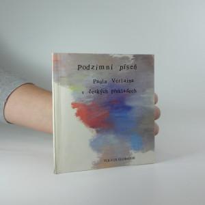 náhled knihy - Podzimní píseň Paula Verlaina v českých překladech
