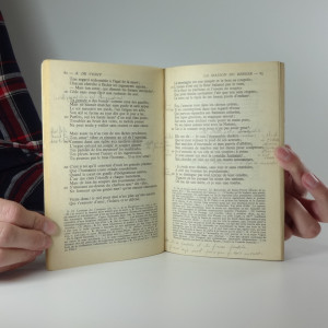 antikvární kniha Poésies choisies, neuvedeno