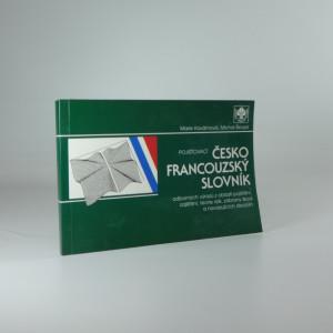 náhled knihy - Pojišťovací česko-francouzský slovník (odborných výrazů z oblasti pojištění, zajištění, teorie rizik, zábrany škod a navazujících disciplín)