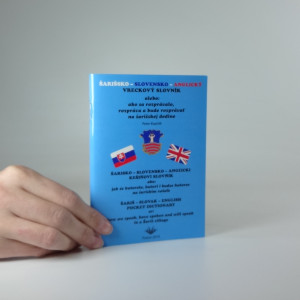 náhled knihy - Šarišsko - Slovensko - Anglický vreckový slovník