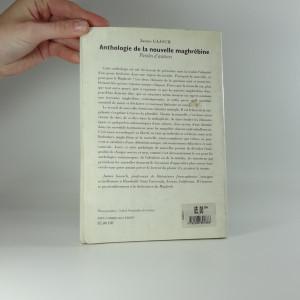 antikvární kniha Anthologie de la nouvelle maghrébine, 1996