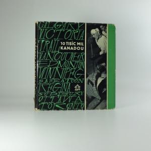 náhled knihy - 10 tisíc mil Kanadou - Karel Bureš, Josef Davídek