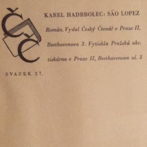 antikvární kniha São Lopez, 1941