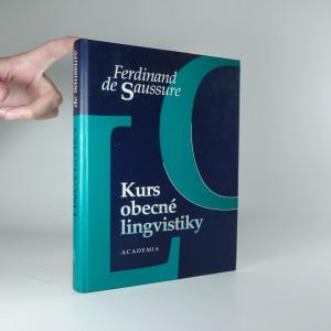 náhled knihy - Kurs obecné lingvistiky