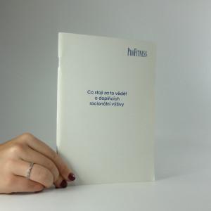 náhled knihy - Co stojí za to vědět o doplňcích racionální výživy
