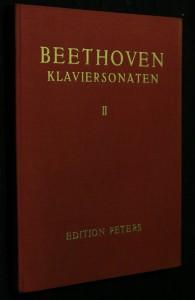náhled knihy - Beethoven, klaviersonaten II.