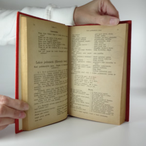 antikvární kniha Konversační mluvnice jazyka anglického, 1922