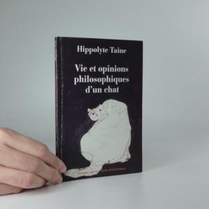 náhled knihy - Vie et opinions philosophiques d´un chat