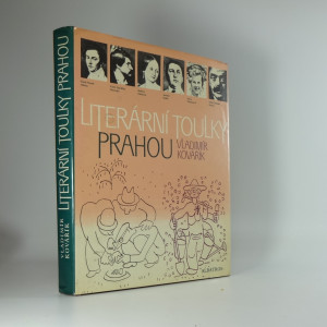 náhled knihy - Literární toulky Prahou : [pro čtenáře od 12 let]