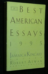 náhled knihy - The best american essays