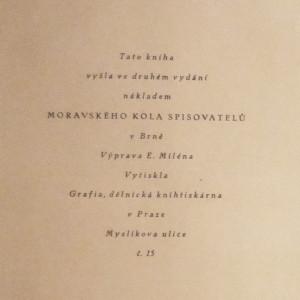 antikvární kniha Černý a bílý, 1926