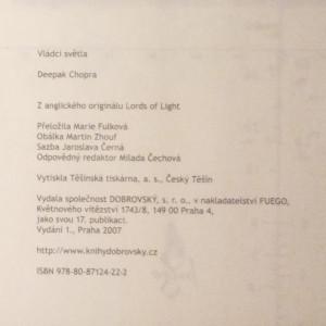 antikvární kniha Pán světla, 2007