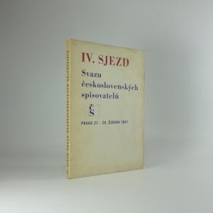náhled knihy - 4. sjezd Svazu Československých spisovatelů