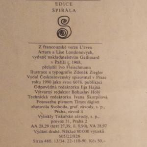 antikvární kniha Doznání, 1990