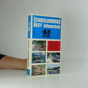 náhled knihy - Československé řeky : kilometráž
