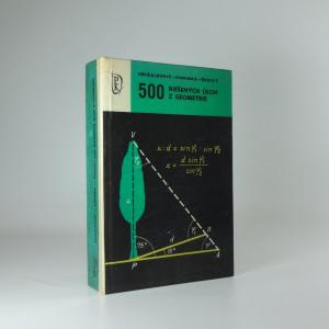 náhled knihy - 500 riešených úloh z geometrie